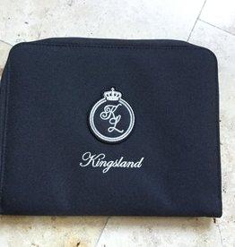 KINGSLAND KINGSLAND Saint Peire Passport Cover black/ paspoort hoes zwart