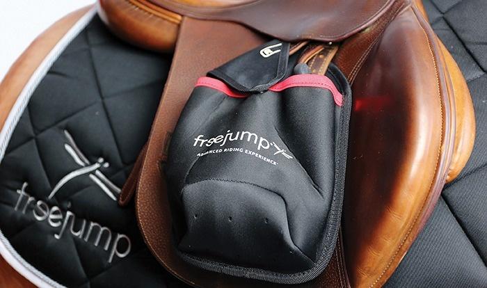 FREEJUMP FREEJUMP stirrup pockets black/red