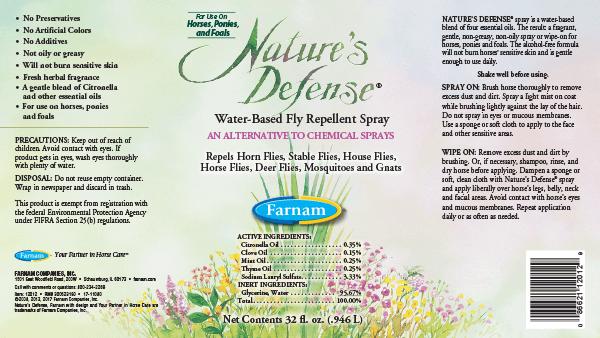FARNAM Farnam Nature's Defense