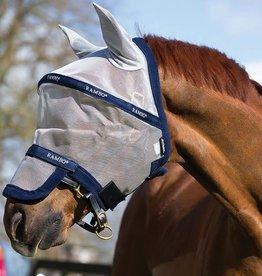 HORSEWARE HORSEWARE rambo plus fly mask