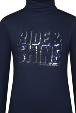 IMPERIAL RIDING Imperial riding T-shirt met rolkraag Ambient Star