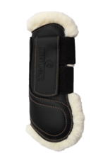 KENTUCKY KENTUCKY sheepskin leather tendon boots hook en loop
