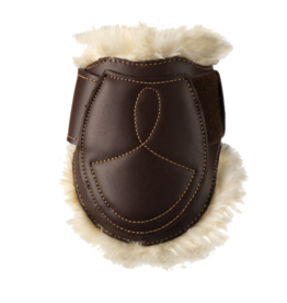 KENTUCKY KENTUCKY kogelbescherming  sheepskin leathers fetlock boots velcro