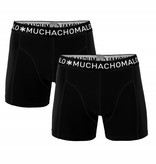 Muchachomalo Muchachomalo 1010BASIC02 2-Pack Black