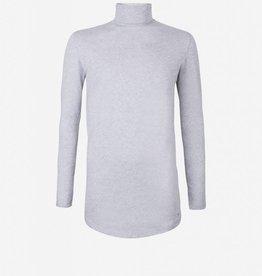 Pure White Pure White 17030181 Coll Tee Grey