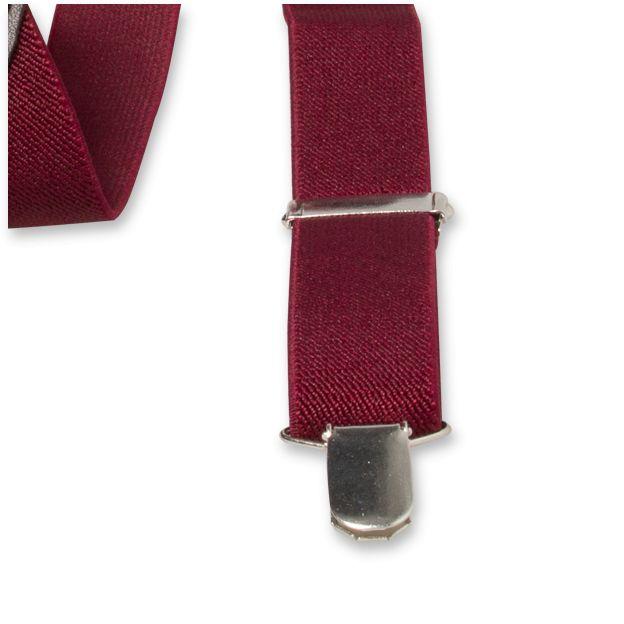 E.L. Cravatte E.L. Cravatte Bretels Bordeaux