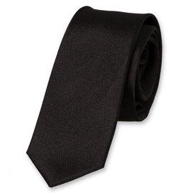 E.L. Cravatte E.L. Cravatte Stropdas Smal Zwart