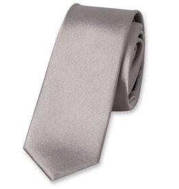E.L. Cravatte E.L. Cravatte Stropdas Smal Grijs