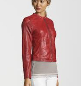 Freaky Nation Freaky Nation Carol Leather Jacket Red