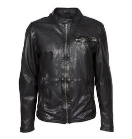Freaky Nation Freaky Nation Giants Leather Jacket Black