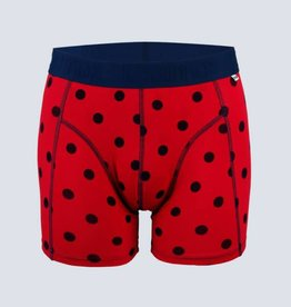 Cheaque Cheaque L'euter Boxer Red/Navy