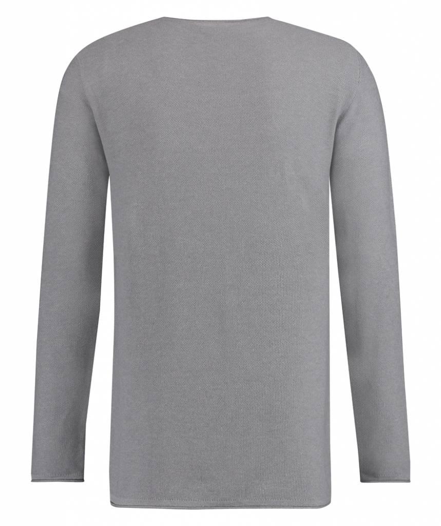 Kultivate Kultivate Melvin Knit Light Grey Melange