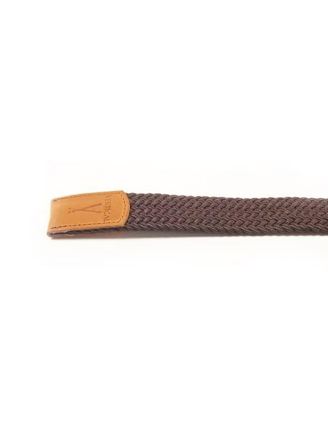 Vertical L'Accesoire Vertical L'Accessoire Elastic Belt Brown