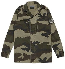 Circle of Trust Circle of Trust Burton Camo Jacket