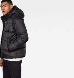 G-Star G-Star Whistler Quilted Hooded Jacket Black