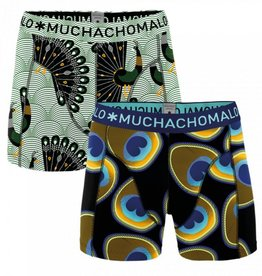 Muchachomalo Muchachomalo 2-Pack Proud as a Peacock Boxers