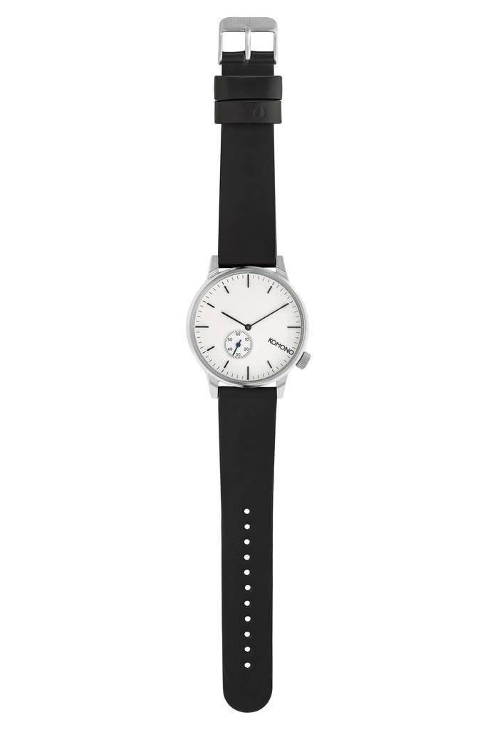 Komono Komono Winston Subs Silver White Watch