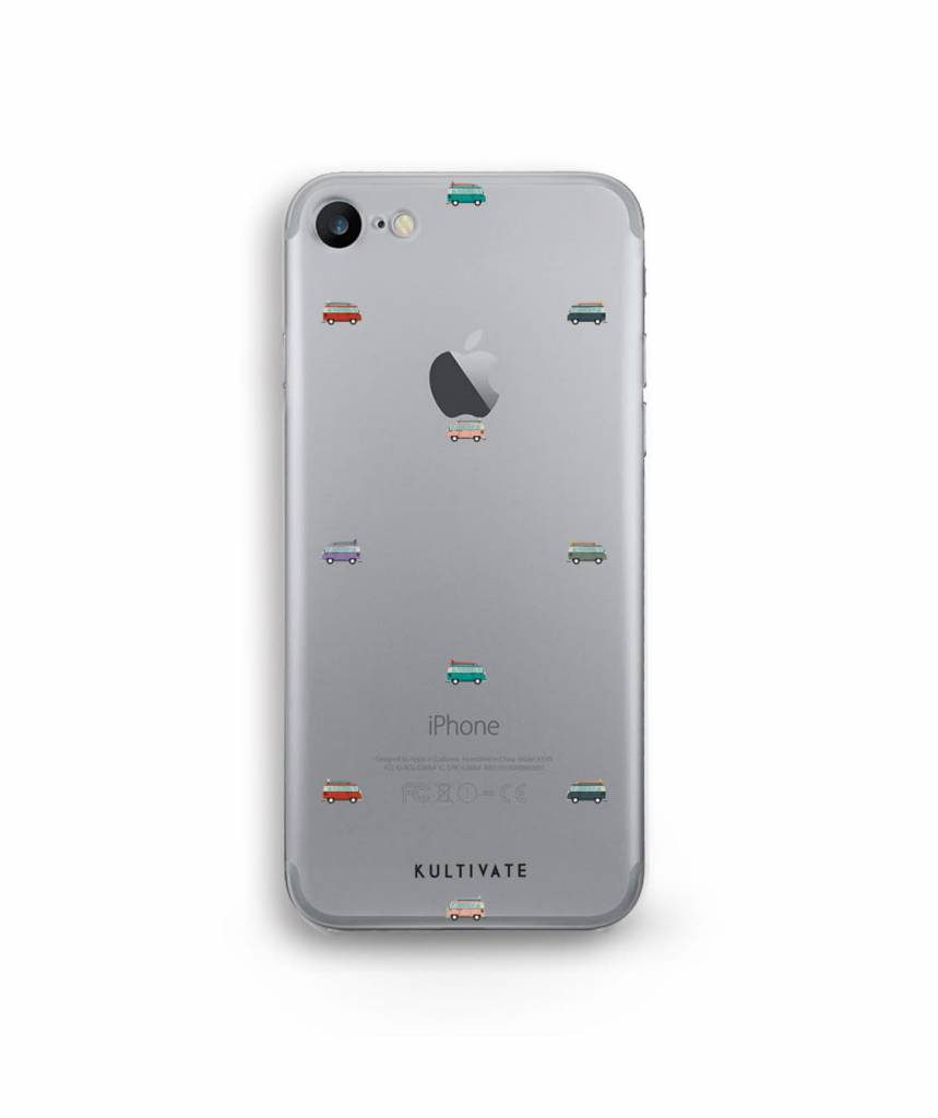 Kultivate Kultivate iPhone 7 Plus Minivan Case One size Silver