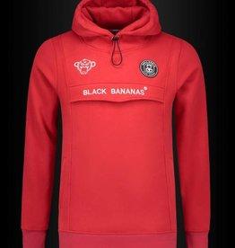 Black Bananas Black Bananas Anorak Hoodie Red