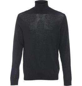 Clean Cut Clean Cut Wool Rollneck Plain Pullover Black
