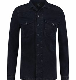 Kultivate Kultivate Pats Overshirt Dark Navy