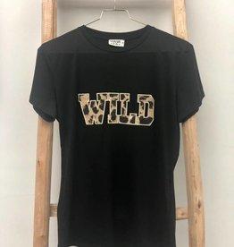 Voyar La Rue Voyar La Rue Wild Tee Black