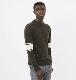 Minimum Minimum Borg Knit 3383 Army Green