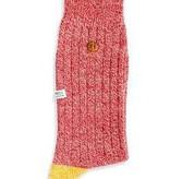 Alfredo Gonzalez Alfredo Gonzales Twisted Wool Socks Red/Yellow