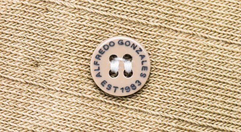 Alfredo Gonzalez Alfredo Gonzales Pencil Classic Socks Khaki