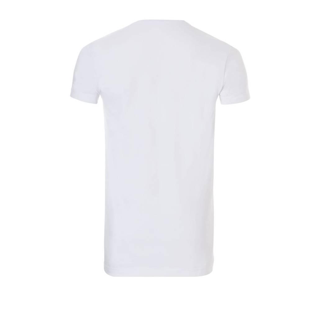 Ten Cate Ten Cate 2-Pack Basic T-Shirt Long V-Neck White