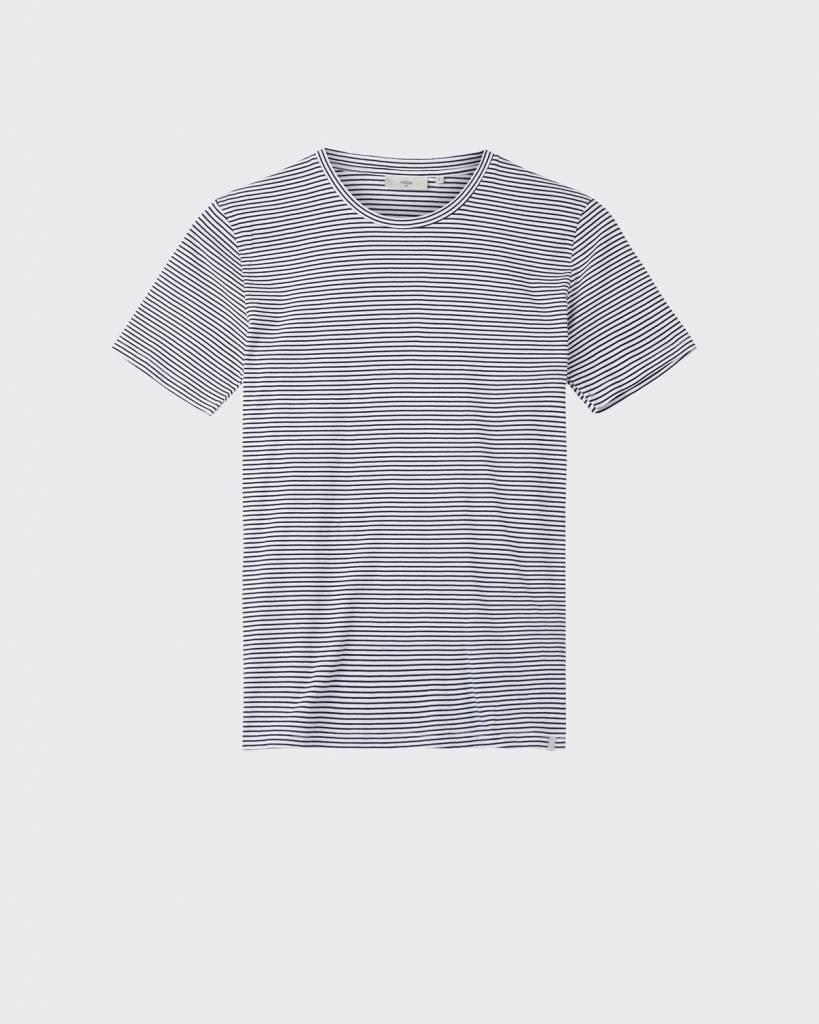 Minimum Minimum Luka Tee 3254 Stripe White