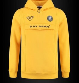 Black Bananas Black Bananas Anorak Hoodie Yellow