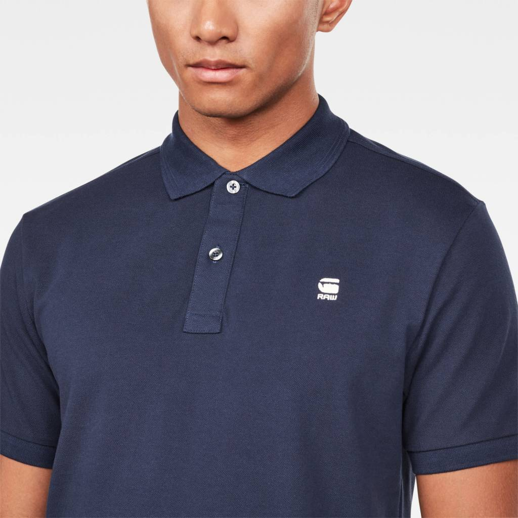 G-Star G-Star Dunda Slim Polo S/S Navy