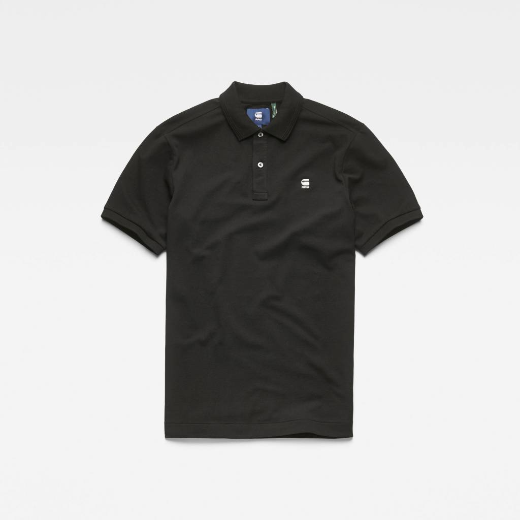 G-Star G-Star Dunda Slim Polo S/S Black