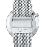 Kane Watches Kane Watch Silver Steel Silver Mesh