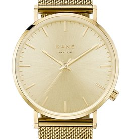 Kane Watches Kane Watch Gold Rush Gold Mesh