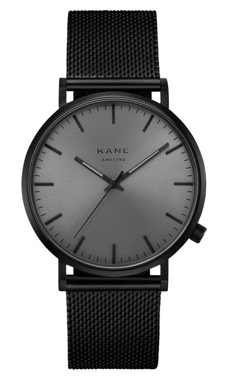 Kane Watches Kane Watch Black Out Black Mesh