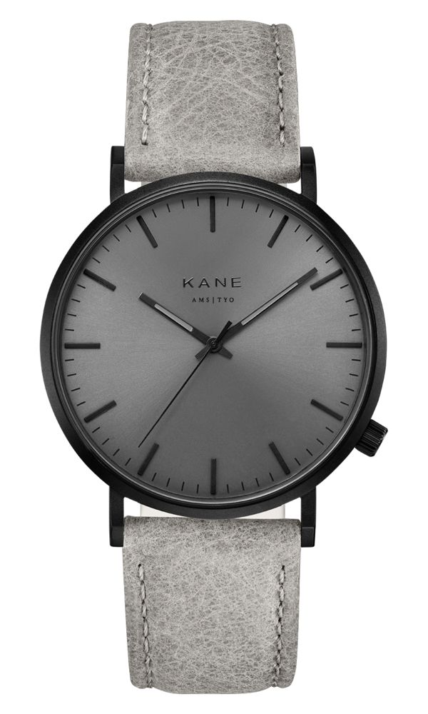 Kane Watches Kane Watch Black Out Urban Grey