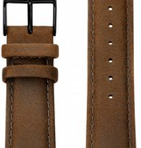 Kane Watches Kane Watch Leather Strap Vintage Brown Black Buckle