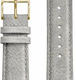 Kane Watches Kane Watch Leather Strap Urban Grey Gold Buckle