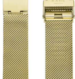Kane Watches Kane Watch Mesh Strap Gold