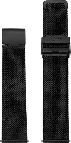 Kane Watches Kane Watch Mesh Strap Black