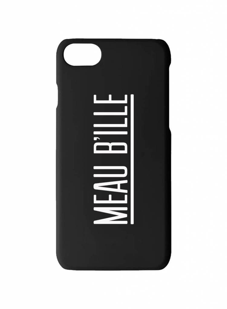 Cheaque Cheaque Iphone 6/7/8 Hoesje Meau B'ille Black One size