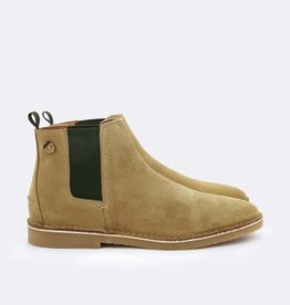 faguo Faguo Chelsea Boots Cork Suede