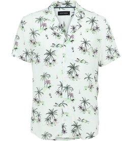 Clean Cut Clean Cut Island Bowling Shirt White