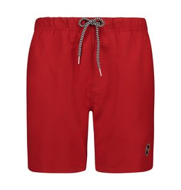 SHIWI Shiwi Mike Solid Swim Short Chinese Red