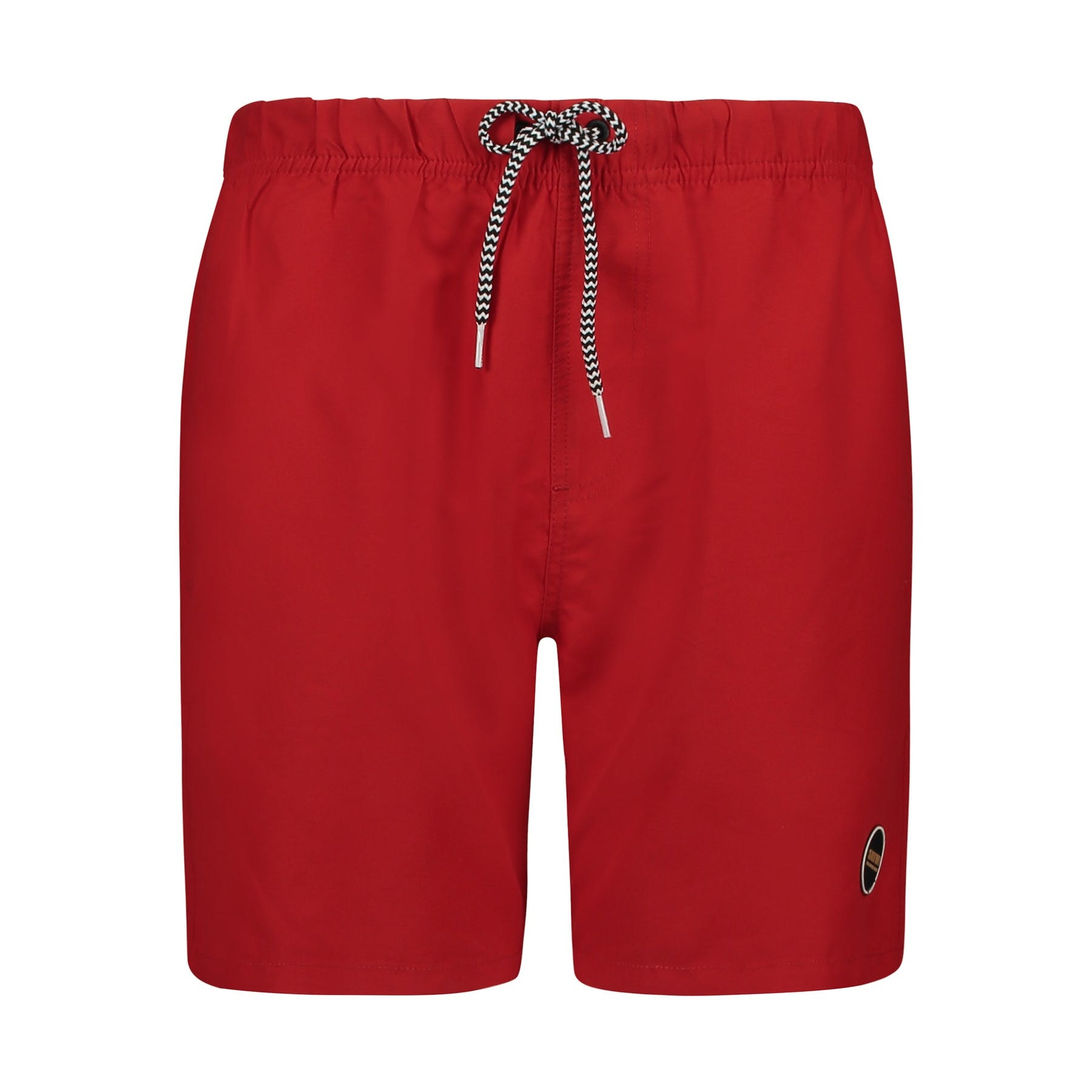 SHIWI Shiwi Mike Solid Swim Short Chinese Red
