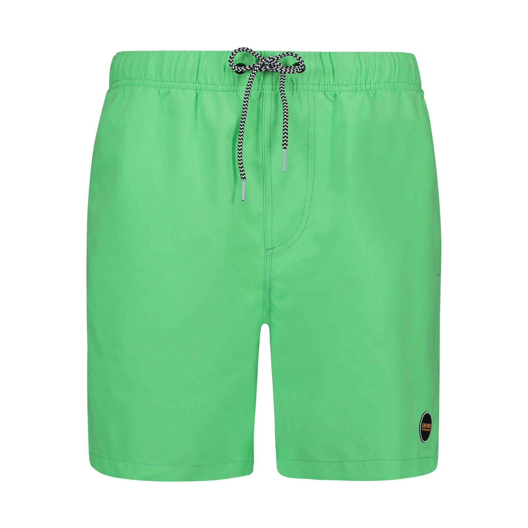 SHIWI Shiwi Mike Solid Swim Short Neon Green