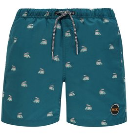 SHIWI Shiwi Icecream Truck Swimshort Ocean Blue