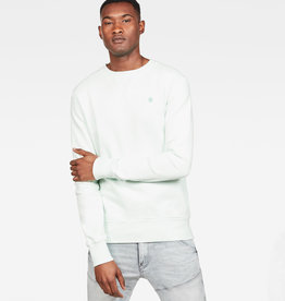 G-Star G-star Core Round Neck Sweat Aquamarine Green